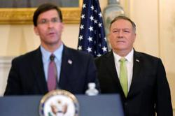 Pompeo and US defence secretary to visit India for talks