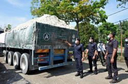 Police, JPJ seize 118 overloaded lorries in Johor