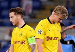 Dortmund issued early European warning after surrender at Lazio