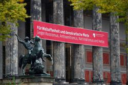 Police investigate attack on antique artworks on Berlin's Museum Island