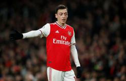 Ozil disappointed after being axed from Arsenal's Premier League squad