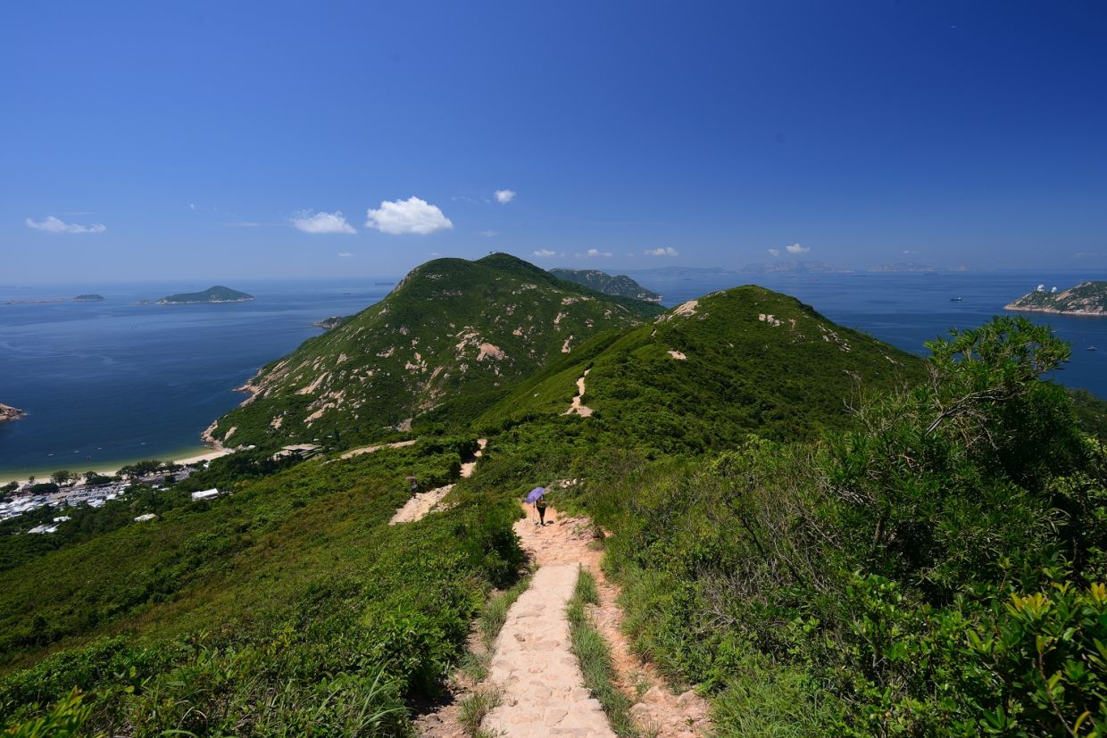 Dragon's Back, one of Hong Kong's most popular hikes. – Photo by Joe Chen