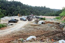Private plots used as illegal dumpsites seized