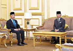 King grants audience to PM for pre-Cabinet meet