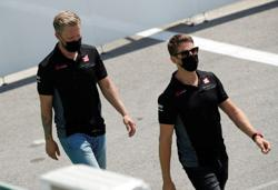 Grosjean blames financial reasons for Haas driver clear-out