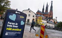 Sweden tells elderly to end isolation even as new virus cases rise