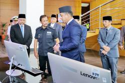 Brunei's Transport and Infocommunications Ministry comes under Sultan's scrutiny