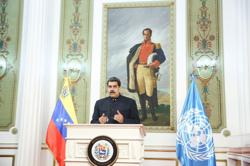 Venezuela's Maduro, citing Pope, asks congress to consider same-sex marriage