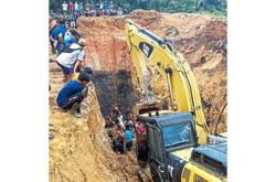 Landslide kills 11 miners in Sumatra