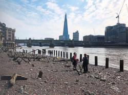 Mudlarking: Scavenging for lost treasures in the Thames