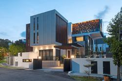 KL's House 1A gets an A for its elegant aesthetics and striking geometric facade