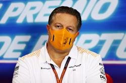 McLaren's Brown questions Racing Point's COVID response
