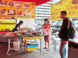 Veggie stall traders enjoying brisk business