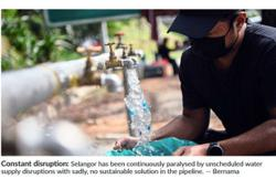 Water a boiling issue in Selangor