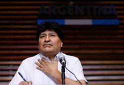 Bolivian ex-president Morales leaves Argentina on flight to Venezuela - state news agency