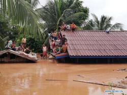 Laos completes 98th joint patrol on Mekong River as many in country displaced by floods