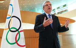 IOC chief Bach says Olympic Games cannot be 'marketplace of demonstrations'