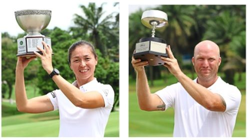 Just days prior to the new tournament ban, Wong Jay Lyn and Carl Lund clinched the Saujana club championship titles.