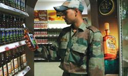 What, No more scotch? India moves to ban imported goods at military shops