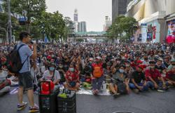 It's on again: Thai protesters are back on the street