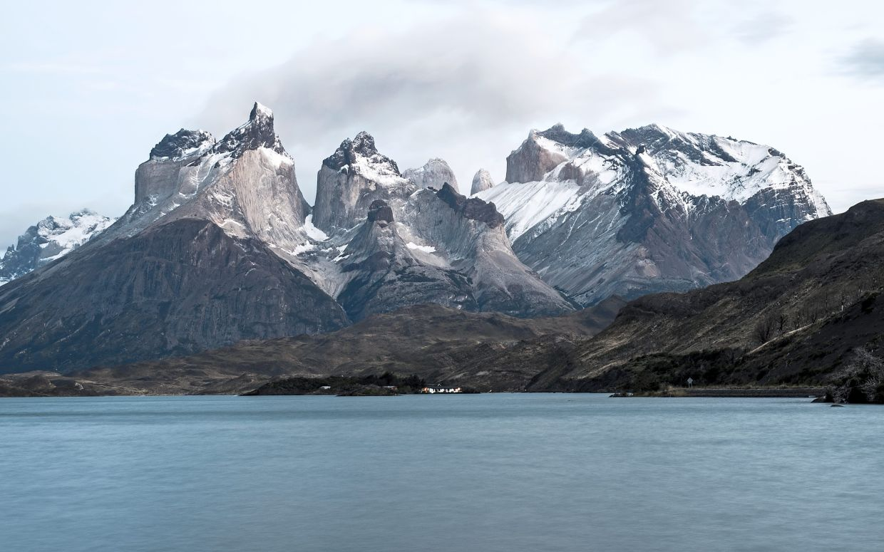 The Patagonian Marathon brings partcipants past spectacular landscapes.