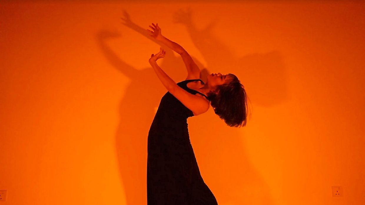 Spark in the dark: dancer and pianist strike a chord with their virtual film collaboration
