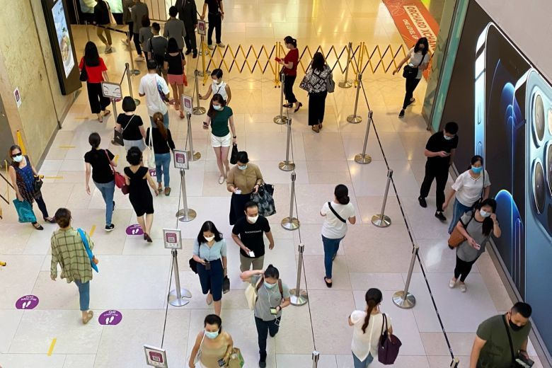 There were only three new Covid-19 cases confirmed as at noon on Monday (Oct 26), taking Singapore's total to 57,973 on Monday (Oct 26). - The Straits Times/Asian News Network