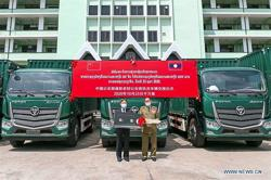 Vehicles for law enforcement received from China