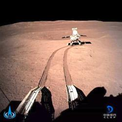 Lunar rover travels 566m on the moon