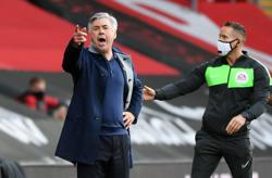 Saints deserved win but red card was a joke, says Everton's Ancelotti