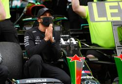 What a time to be alive, says Hamilton after record 92nd win