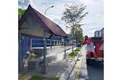 Several areas in Kuala Lumpur undergo sanitisation
