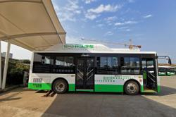 Hydrogen-powered buses enter service in North-East China