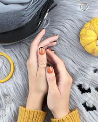 Get in the mood for Halloween with some spooky cute nail art