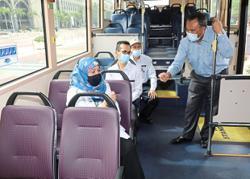 Travel for free on Putrajaya buses