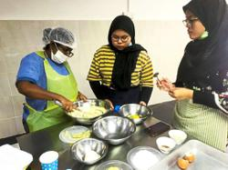 Learning pastry making to earn dough