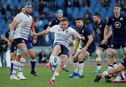 Rugby: Italy scrum half Braley misses out against England