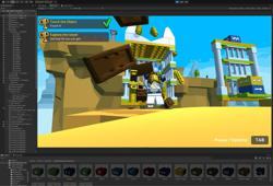 Build your own virtual Lego mini games with the Unity engine