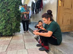 In Armenia, war refugees sleep rough in the diamonds
