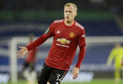 Van de Beek has big part to play for Man Utd, says Solskjaer