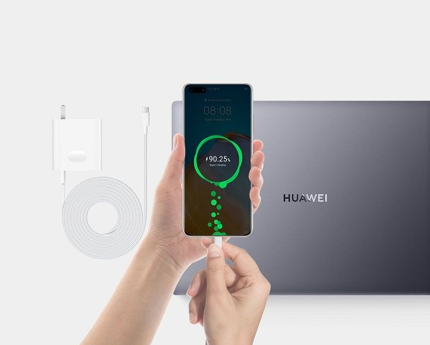 Huawei MateBook 14's fast charging capabilities was another adoption from its mobile cousins.