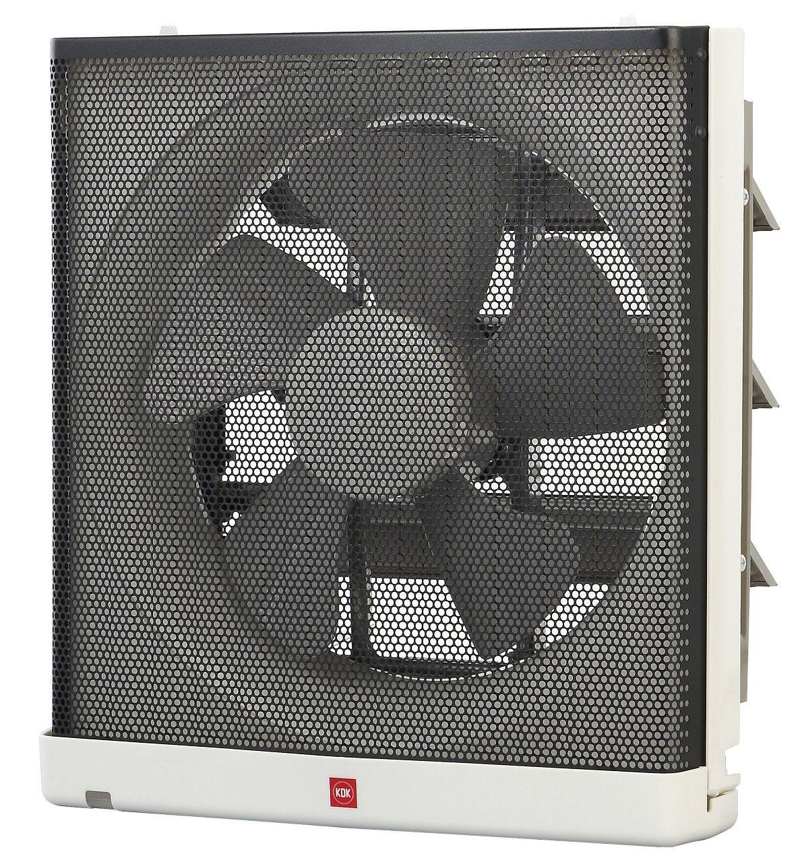 Raku-Raku ventilation fan has been carefully designed by the KDK research and design team to meet your needs.