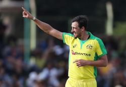 Australia's Starc blocks out 'noise' ahead of India series