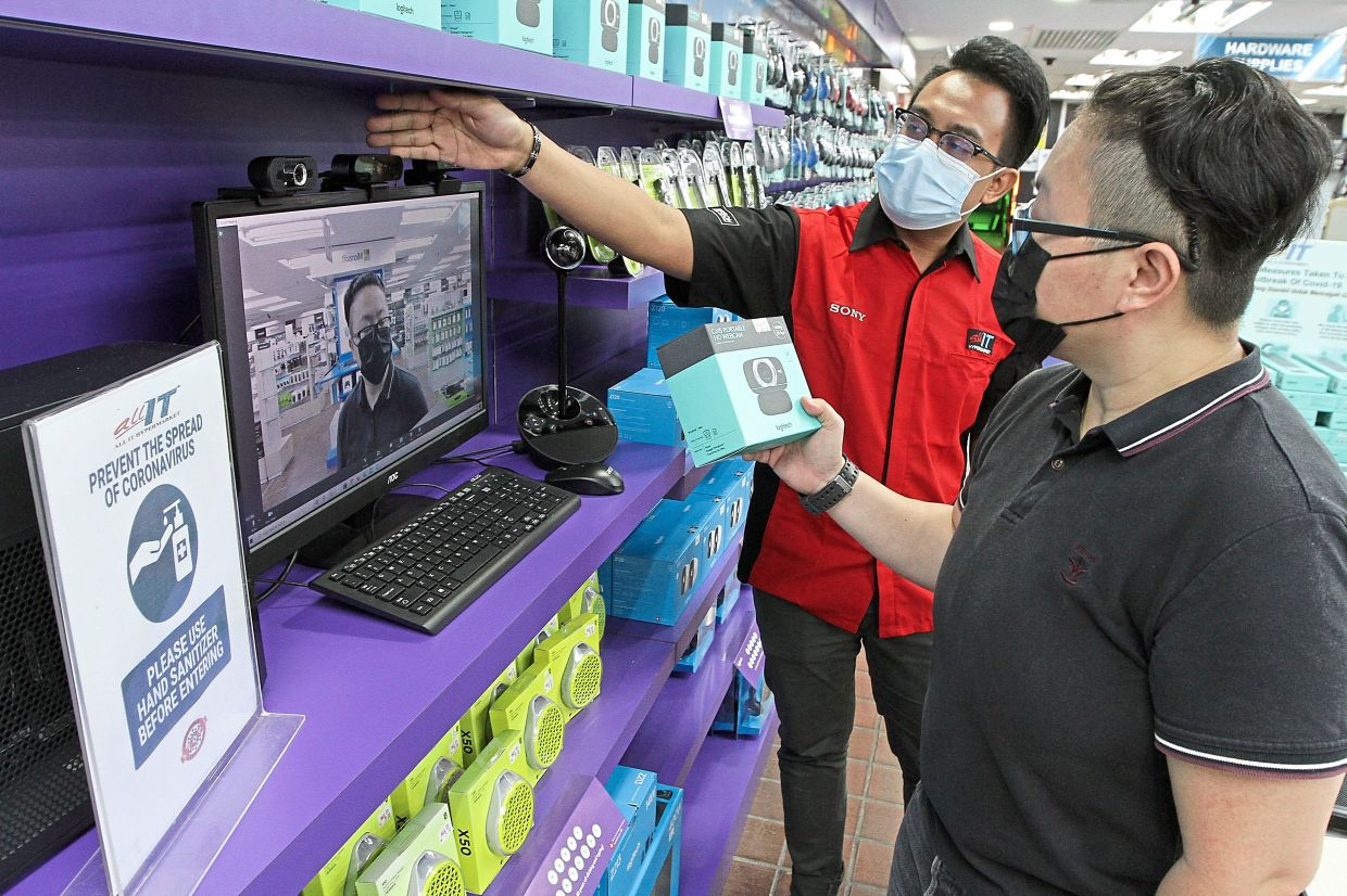 Demand for gadgets up due to WFH trend