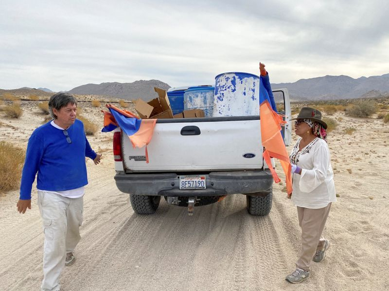 Couple divided over Trump united in saving illegal immigrants in desert