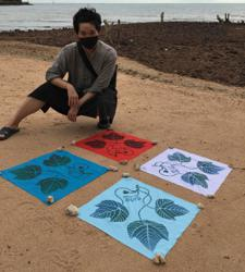 Artist Sharon Chin raising Covid-19 funds for Sabah through DIY bandana