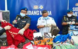 RM1.24mil in seized goods disposed of