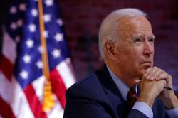 Democratic U.S. presidential nominee Biden votes early in Wilmington