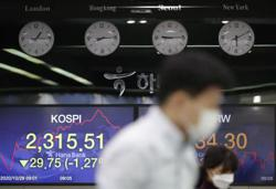 Asian stocks fall again after lockdowns spark Wall St, Europe rout