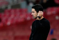 Arteta sorry to have left Saliba out of Europa squad